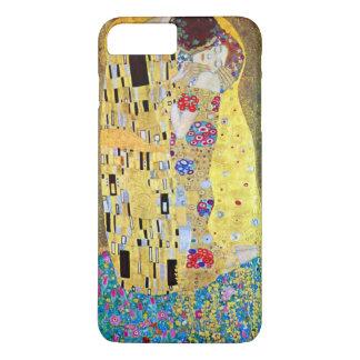 The Kiss by Gustav Klimt, Vintage Art Nouveau iPhone 8 Plus/7 Plus Case