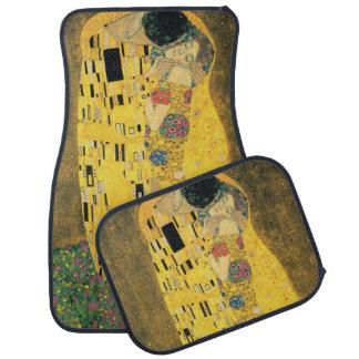 The Kiss by Gustav Klimt, Vintage Art Nouveau Car Mat