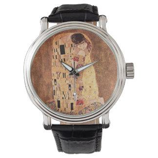 The Kiss by Gustav Klimt Watch
