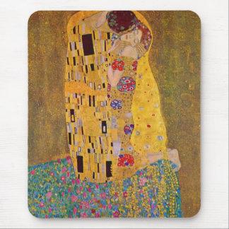 The Kiss by Klimt Mouse Mat