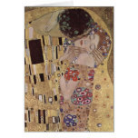 The Kiss Detail - Gustav Klimt Greeting Card