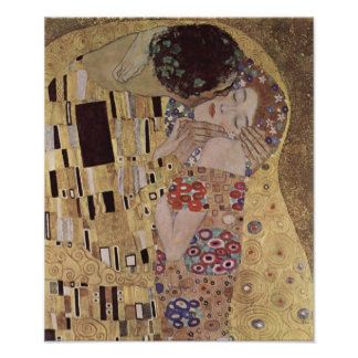 The Kiss Detail - Gustav Klimt Poster