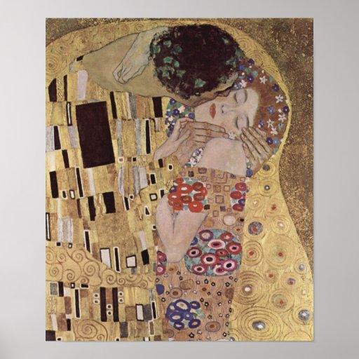 The Kiss Detail - Gustav Klimt Print