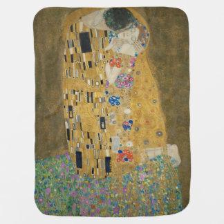 The Kiss - Gustav Klimt Baby Blanket