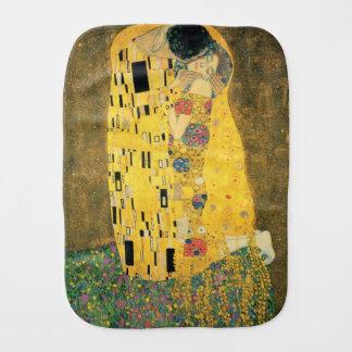 The Kiss - Gustav Klimt Burp Cloth
