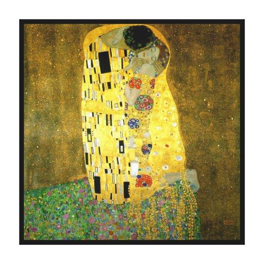 The Kiss ~ Gustav Klimt Canvas Print