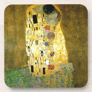 The Kiss ~ Gustav Klimt Coaster