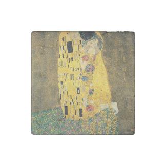 The Kiss - Gustav Klimt Stone Magnet