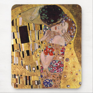 The Kiss, Gustav Klimt Mouse Mat