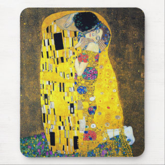 The Kiss Gustav Klimt Mouse Pads