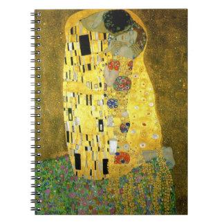 The Kiss ~ Gustav Klimt Notebook