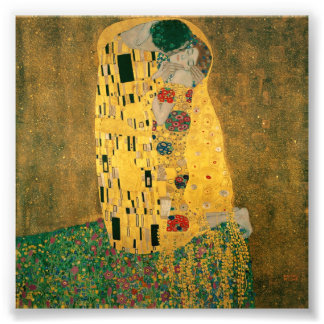 The Kiss - Gustav Klimt Photo Print