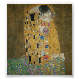 The Kiss - Gustav Klimt Poster
