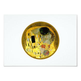 The Kiss Gustav Klimt Wedding   RSVP Card