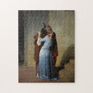 The Kiss / Il Bacio art puzzle