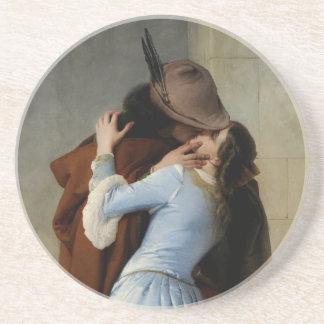The Kiss / Il Bacio coaster