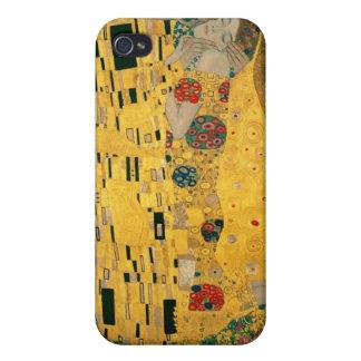 The Kiss (Klimt) fine art iPhone 4/4S case