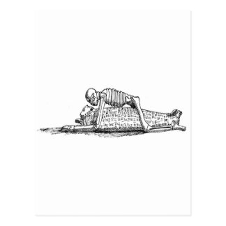 """The Kiss of Death"" Postcard"
