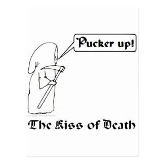 The Kiss of Death Postcard
