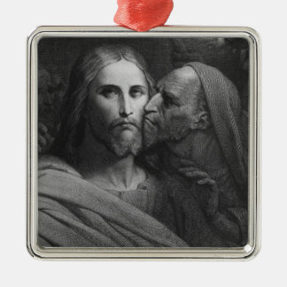 The Kiss of Judas 2 Christmas Ornament