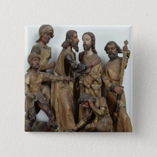 The Kiss of Judas, from Antwerp 15 Cm Square Badge