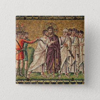 The Kiss of Judas, Scenes from the Life of Christ 15 Cm Square Badge