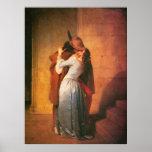 The Kiss Print by Francesco Hayez