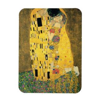 The Kiss Rectangular Photo Magnet