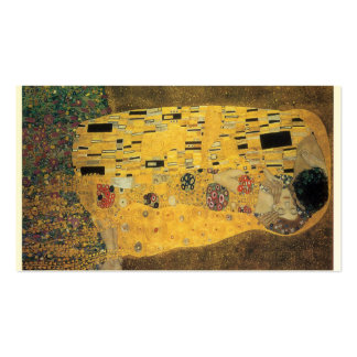 The Kiss, ,reproduction,Gustav Klimt painting,art, Pack Of Standard Business Cards