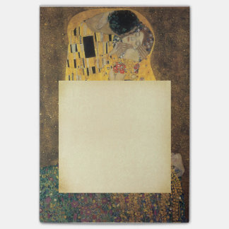 The Kiss, ,reproduction,Gustav Klimt painting,art, Post-It Notes