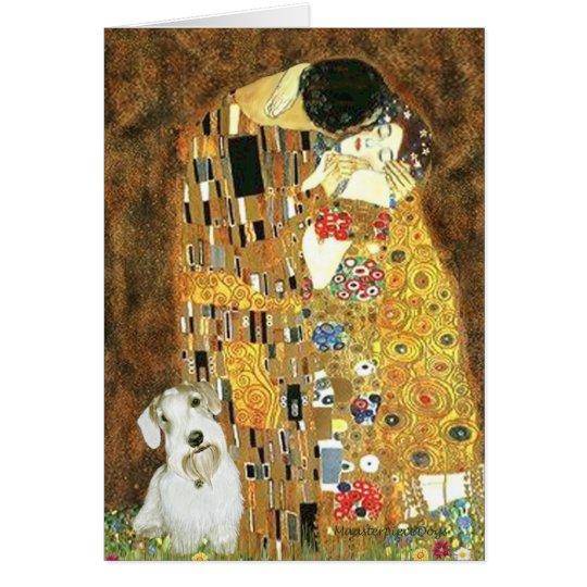The Kiss - Sealyham Terrier Card