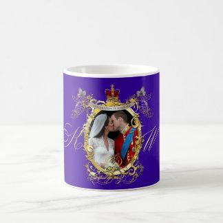 the kiss, will+kate wedding, Custom Color!! Basic White Mug