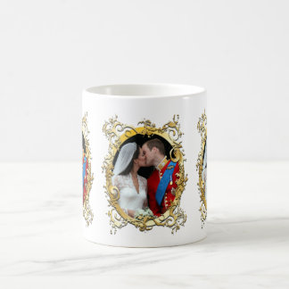 the kiss, will+kate wedding, Custom Color!! Coffee Mug