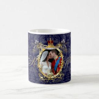 the kiss, will+kate wedding/DIY Color!! Basic White Mug