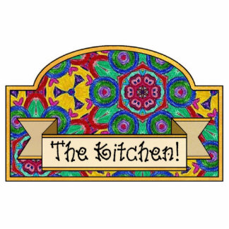 """The Kitchen"" - Decorative Sign Photo Cut Outs"