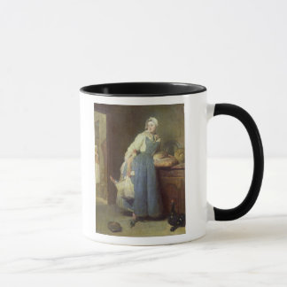 The Kitchen Maid with Provisions, 1739 Mug