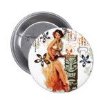 The Kitsch Bitsch : Aloha Oops! 6 Cm Round Badge