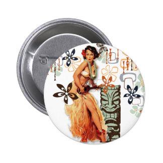 The Kitsch Bitsch : Aloha Oops! 6 Cm Round Badge