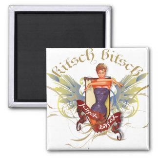 The Kitsch Bitsch : Bathing Beauty Tattoo Pin-Up Magnet