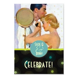 The Kitsch Bitsch : Celebration 9 Cm X 13 Cm Invitation Card
