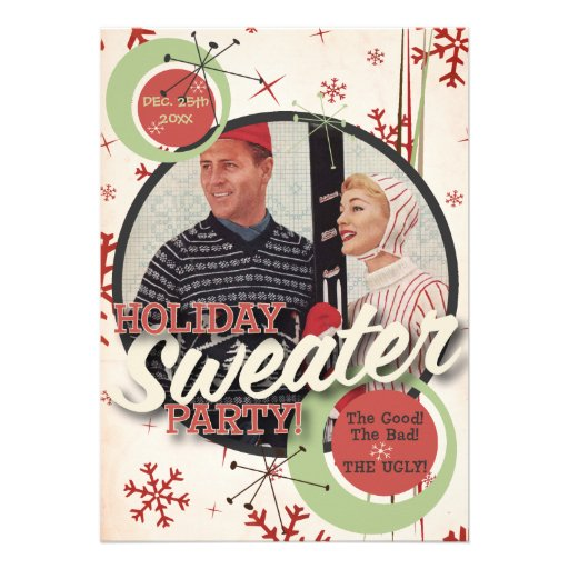 The Kitsch Bitsch : Holiday Sweater Party! Invites