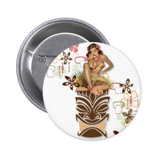 The Kitsch BItsch : Hula Hips! 6 Cm Round Badge