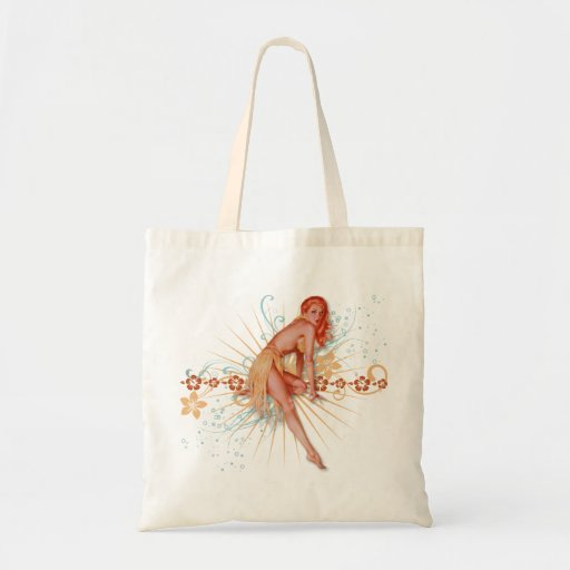 The Kitsch Bitsch : Luau Lovely! Canvas Bag