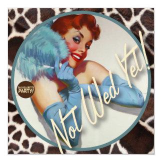 The Kitsch Bitsch : Not Wed Yet! Card