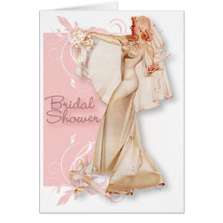 The Kitsch Bitsch : Retro Bridal Shower Card