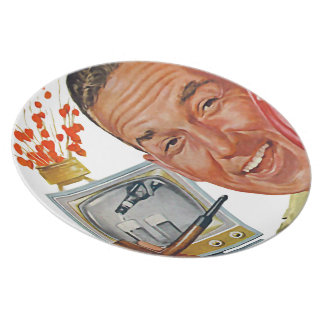 The Kitsch Bitsch™: Vintage Advertising Graphics Party Plate