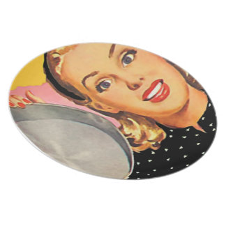 The Kitsch Bitsch™: Vintage Advertising Graphics Party Plates