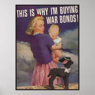 The Kitsch Bitsch : War Bonds Poster