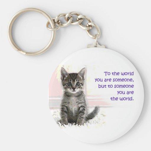 The Kitten's World Keychain