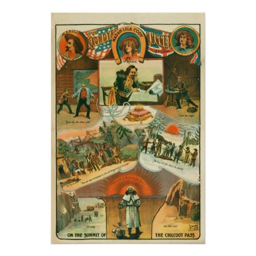 """The Klondyke Nugget"" Poster, ca. 1898"